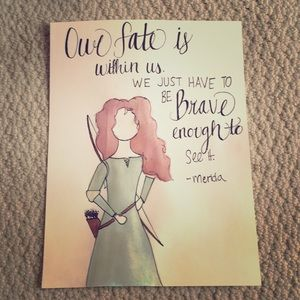 Other - Disney Princess Watercolor